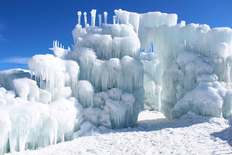 Замоки льда Silverthorne стоковое изображение rf