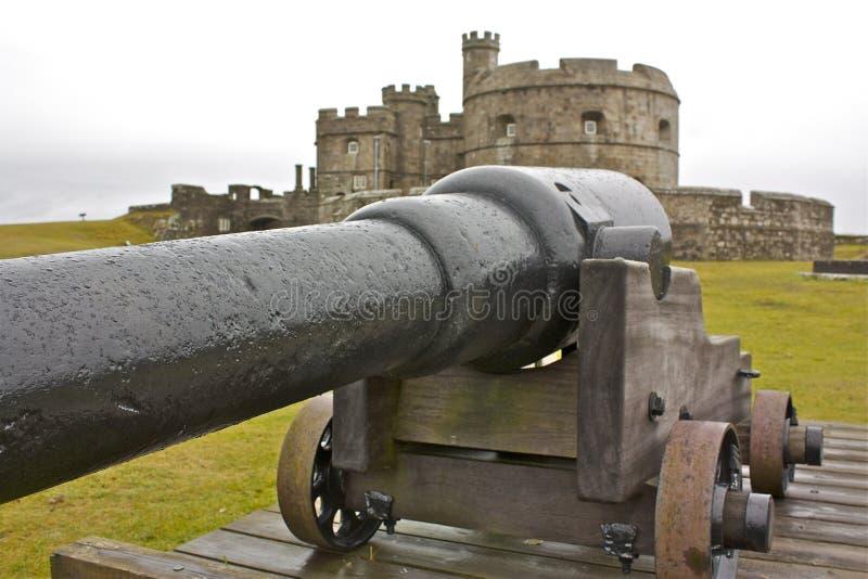 замок Англия старая стоковое изображение