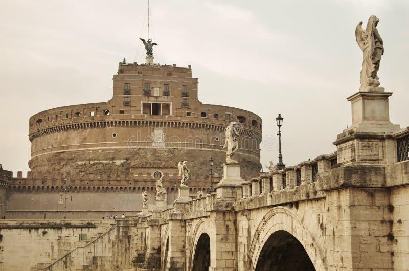Замок Анджела Святого стоковое фото