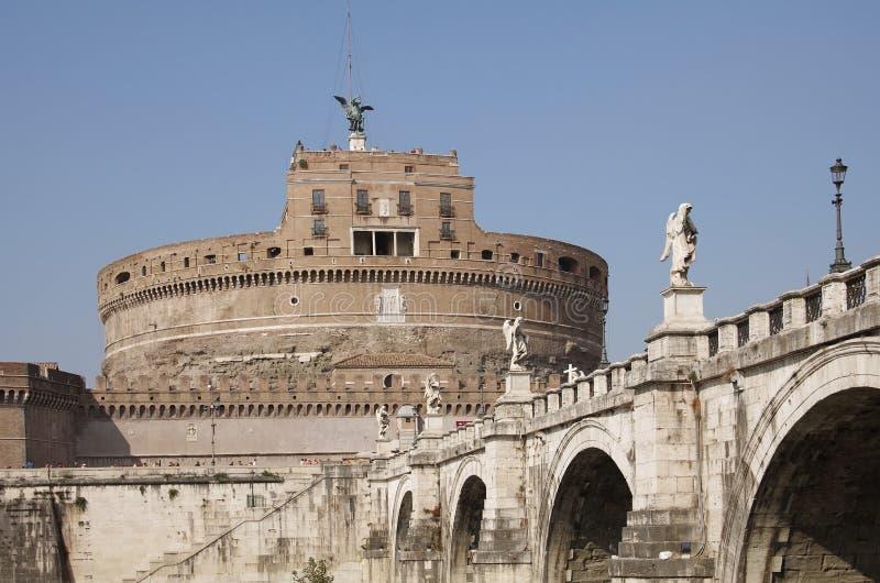 Замок Анджела Святого стоковое фото rf