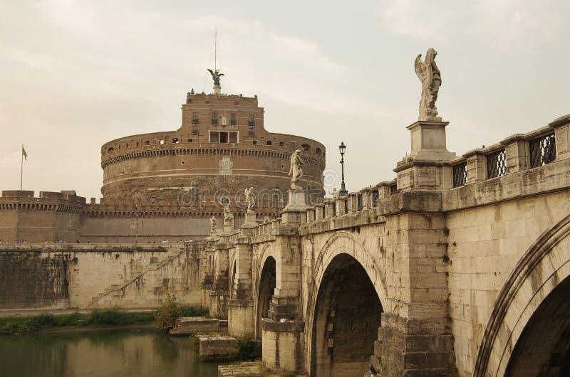 Замок Анджела Святого стоковое изображение rf