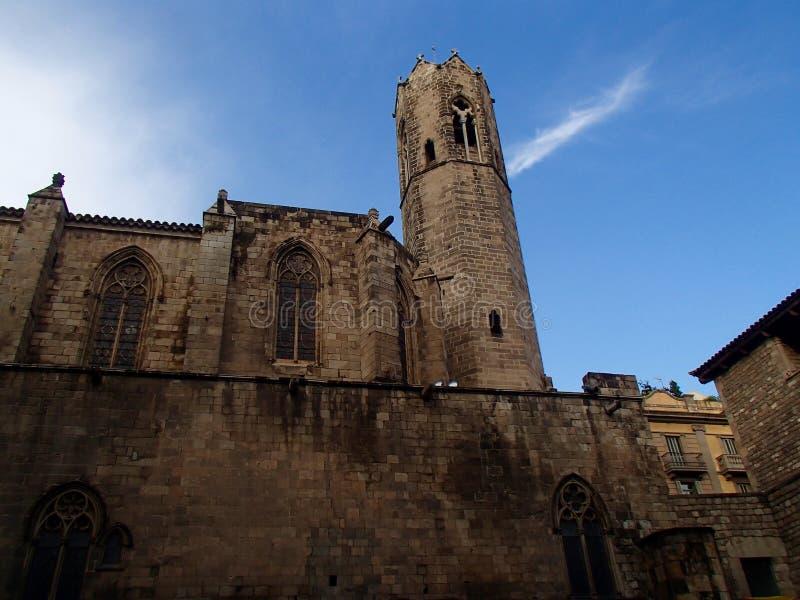 Замок Барселоны стоковые изображения rf