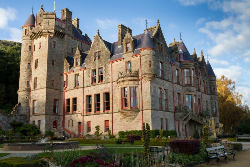 Замок Белфаста, Северная Ирландия стоковое изображение rf