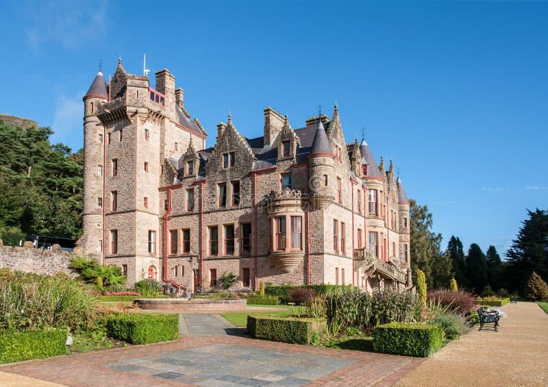 Замок Белфаста, Северная Ирландия, Великобритания стоковое фото rf