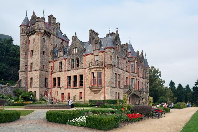 Замок Белфаста стоковые фото