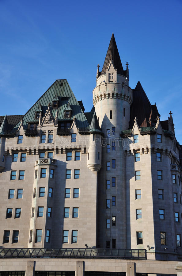 замок более laurier ottawa стоковые изображения