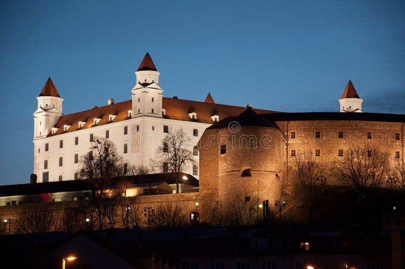 Замок Братиславы стоковое изображение rf