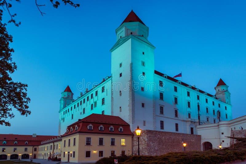 Замок Братиславы стоковые изображения rf