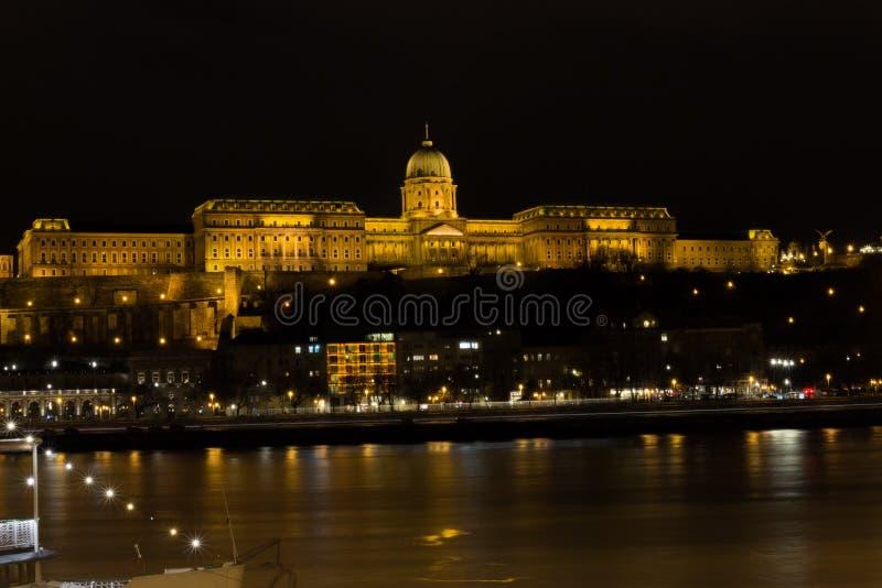 замок Венгрия budapest buda стоковое изображение
