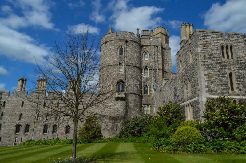 Замок Виндзора на Англии Великобритании стоковое изображение