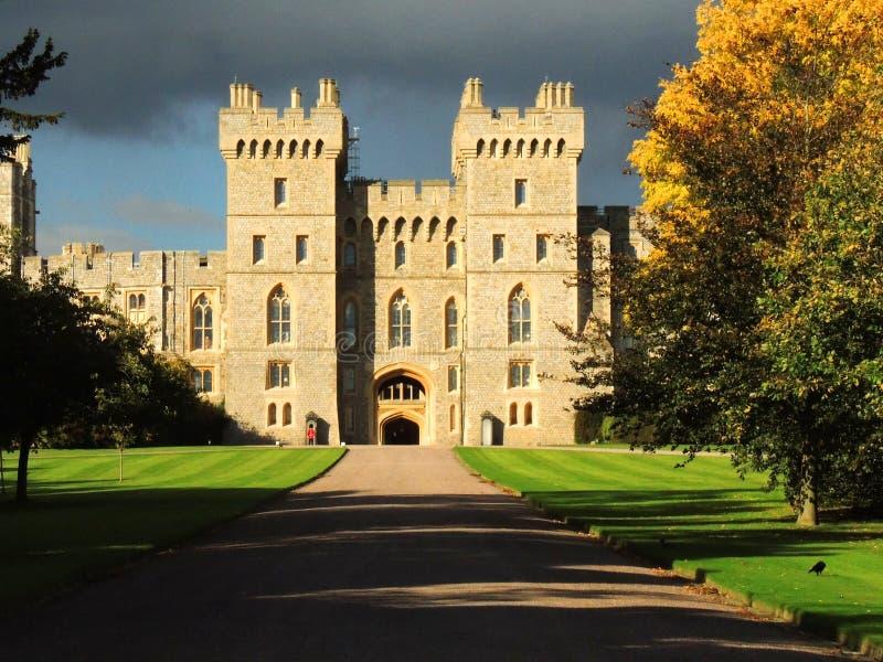 Замок Виндзора стоковые изображения rf