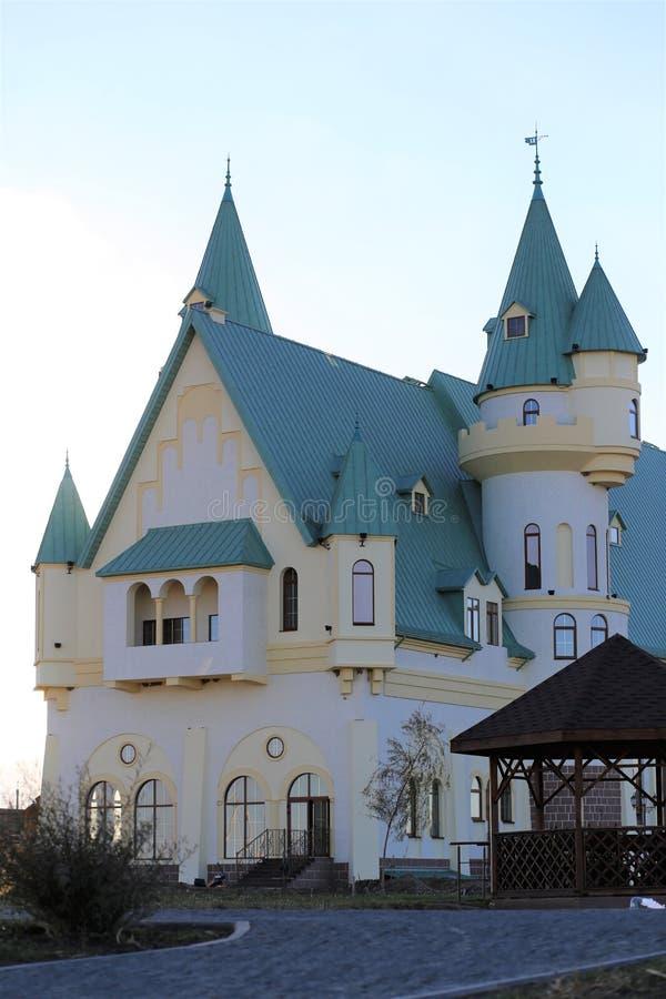 замок волшебный стоковое изображение rf