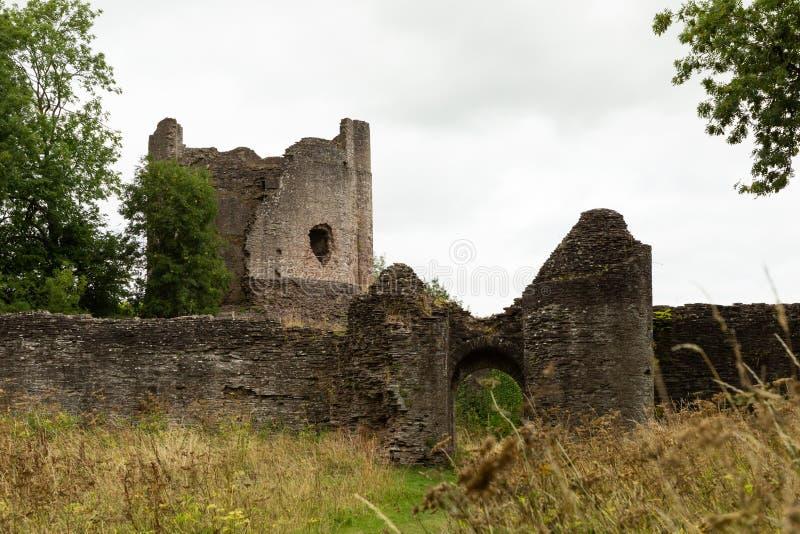 Замок второго века нормандский Longtown стоковые фото