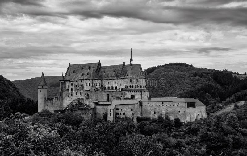 Замок в Луксембурге стоковое изображение