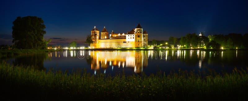 Замок в Мире стоковое изображение rf