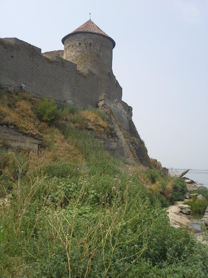 Замок в области Одессы, Украина Akkerman стоковая фотография rf