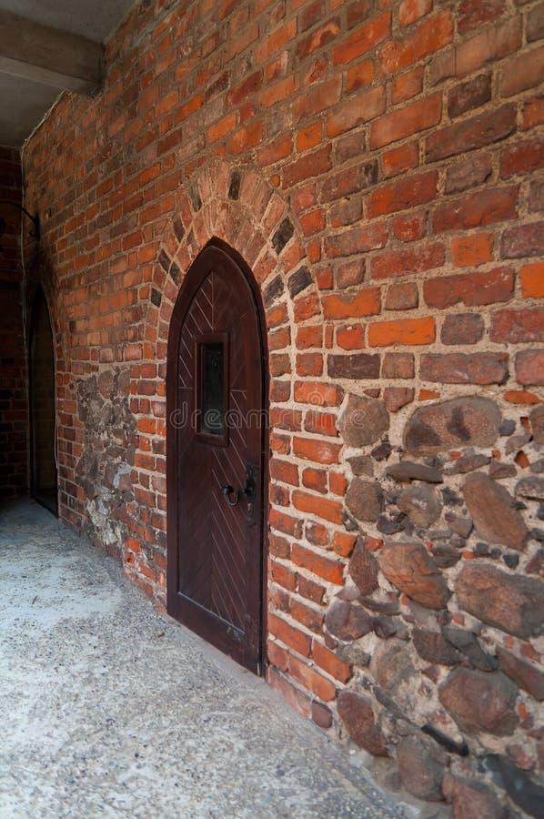 Замок в Nidzica стоковое фото rf