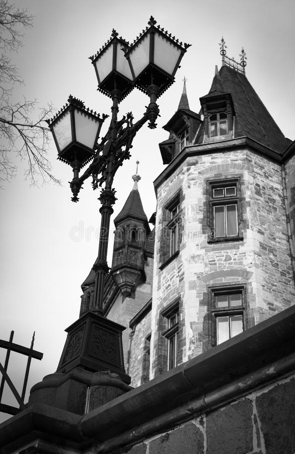 Замок в Wernigerode, Германии стоковое фото rf