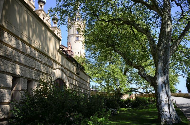 замок Германия schwerin стоковая фотография
