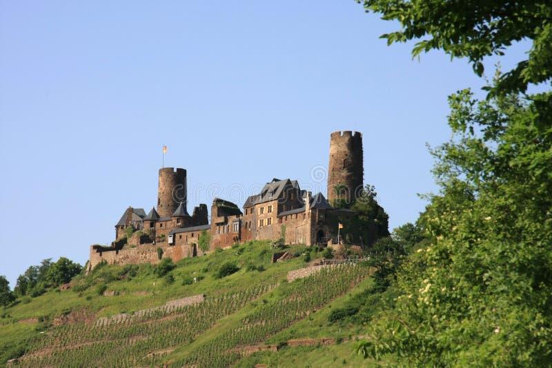 замок Германия thurant стоковое фото