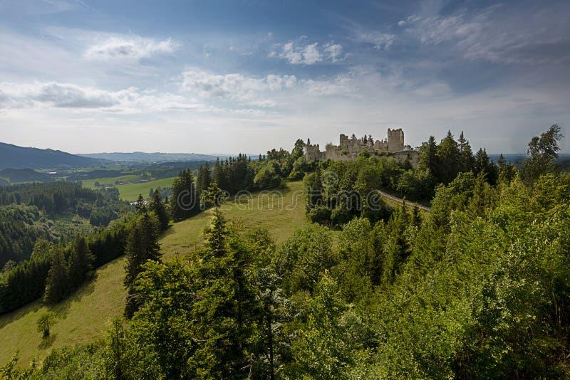 Замок губит Hohenfreyberg стоковые фото