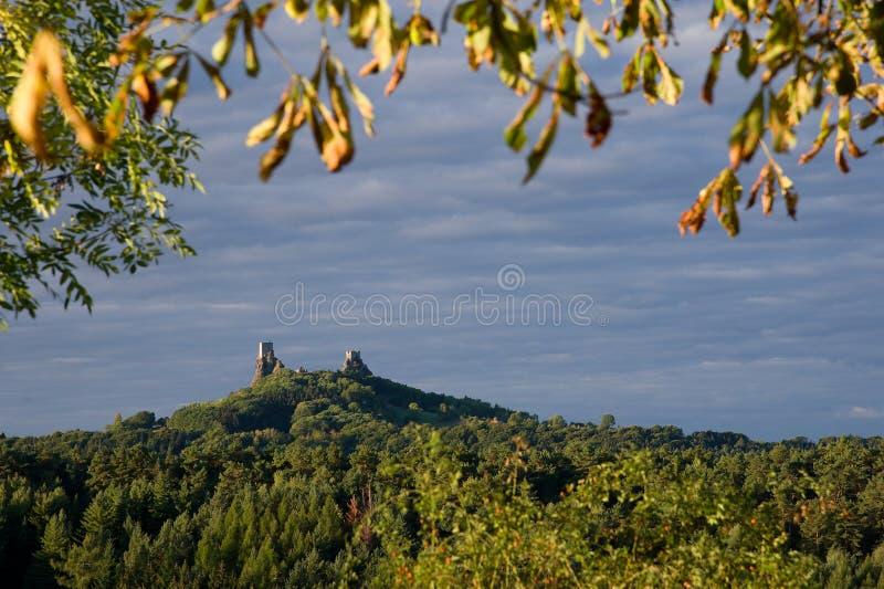 Замок губит Trosky стоковая фотография rf