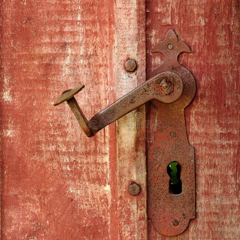 замок двери стоковые изображения