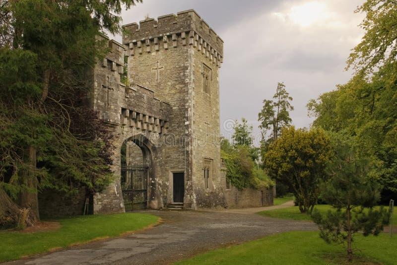 Замок Джонстаун графство Wexford Ирландия стоковое изображение rf