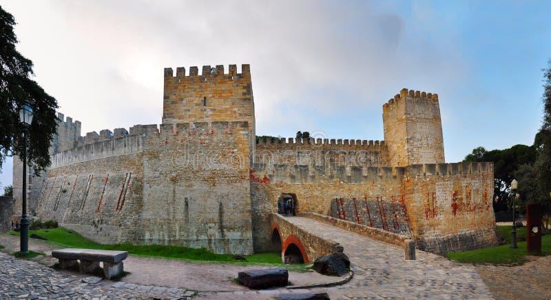 Замок Джордж Sao стоковая фотография