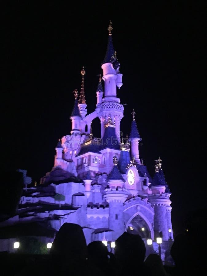 Замок Дисней стоковые фотографии rf