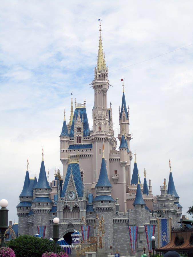 замок Дисней florida orlando стоковая фотография rf
