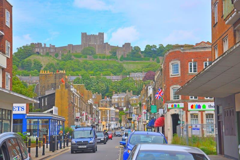 Замок Дувра, Великобритания стоковые фотографии rf