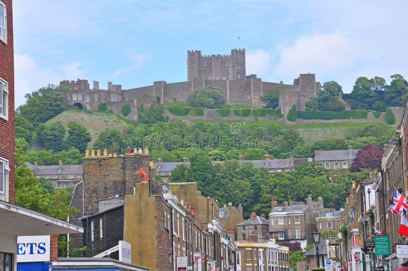 Замок Дувра, Великобритания стоковые фото