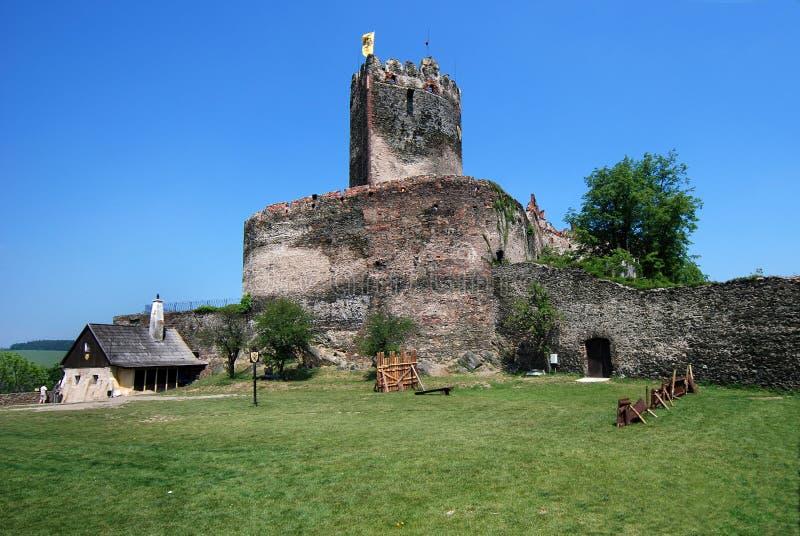 замок европа Польша bolkow стоковая фотография rf