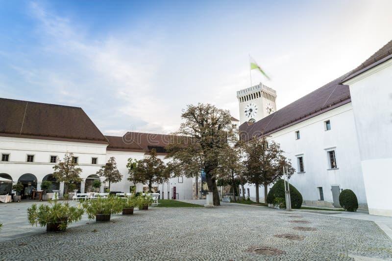 замок европа ljubljana Словения стоковые фотографии rf