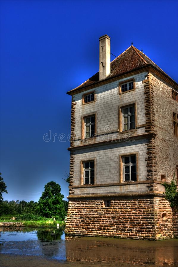 Замок (замок) de Cromatin стоковые изображения rf