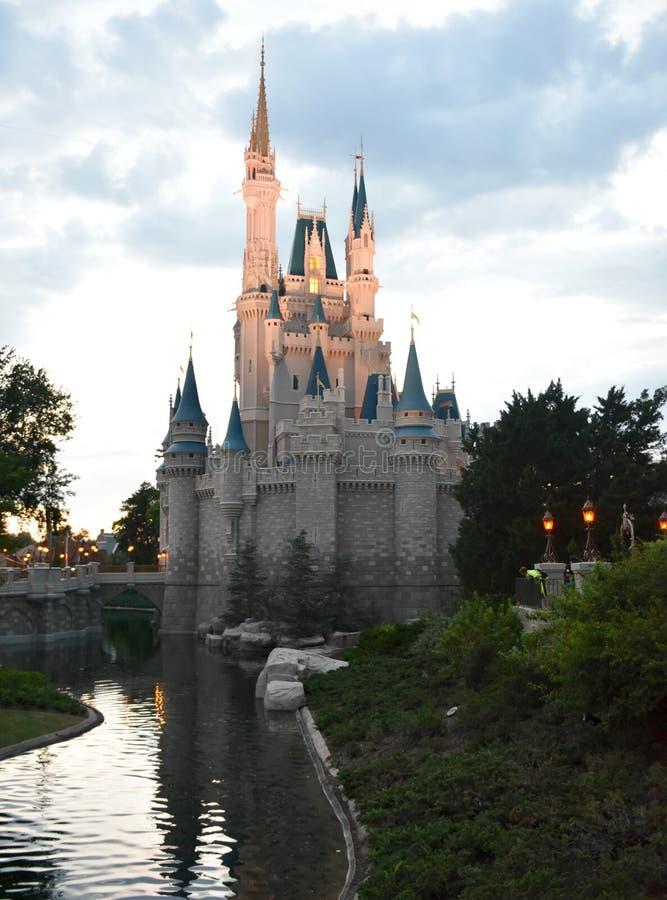 замок Золушка s стоковые фотографии rf
