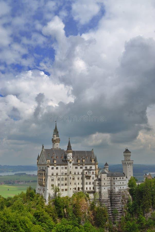 замок известный стоковое изображение