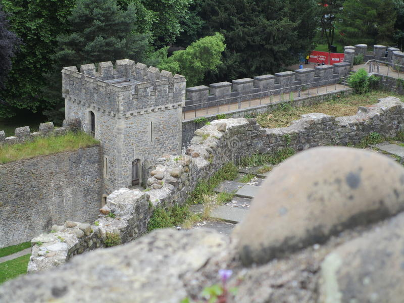 Замок Кардиффа стоковое фото