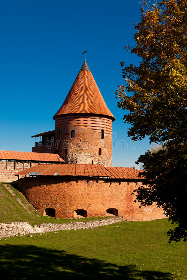 Замок Каунаса стоковые изображения