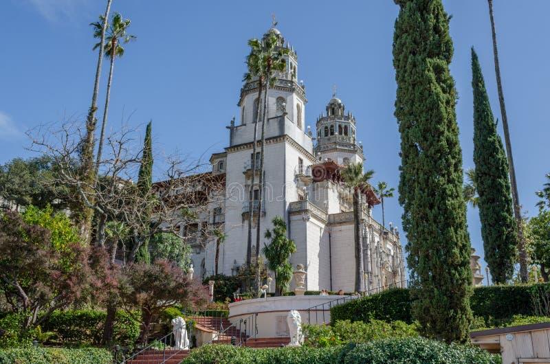Замок Калифорния сердец стоковое изображение rf