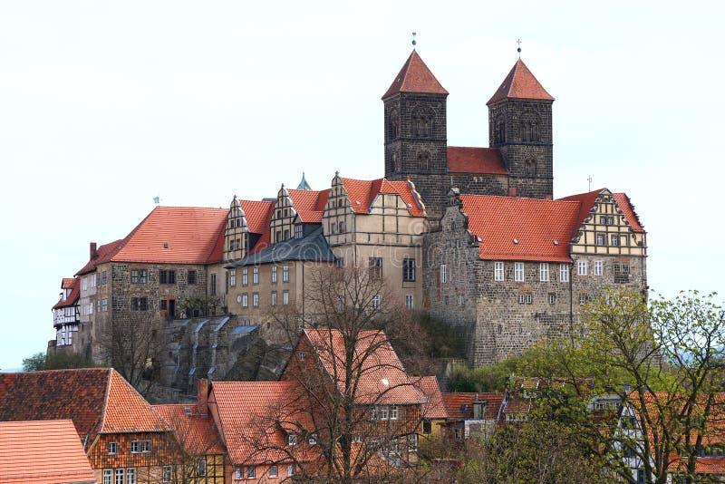 Замок Кведлинбурга стоковые фотографии rf