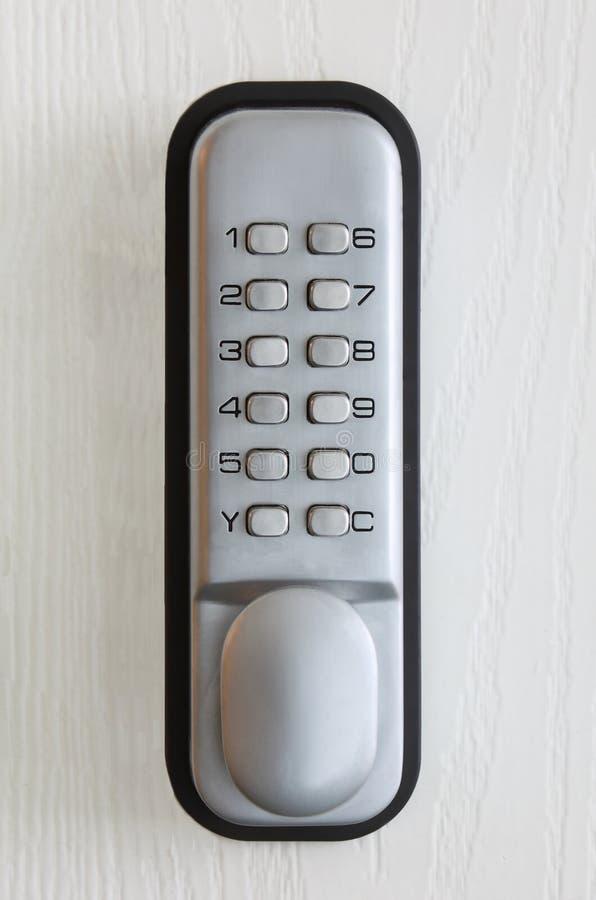замок кнопочной панели стоковая фотография