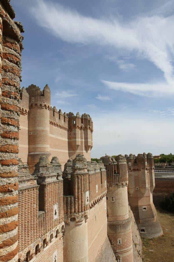 Замок коки стоковая фотография rf