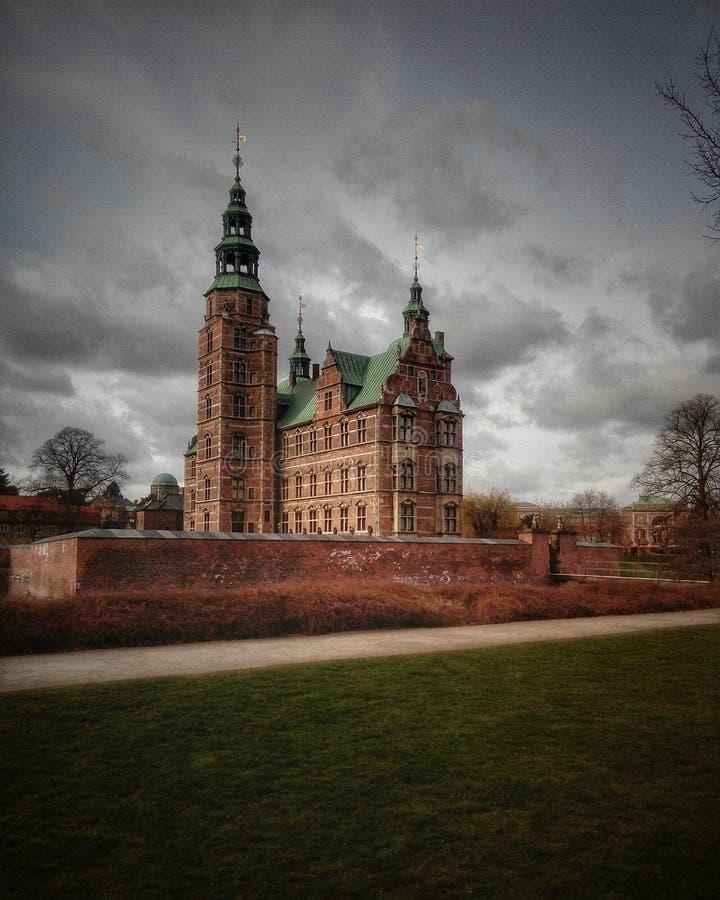 Замок Копенгагена стоковые фото