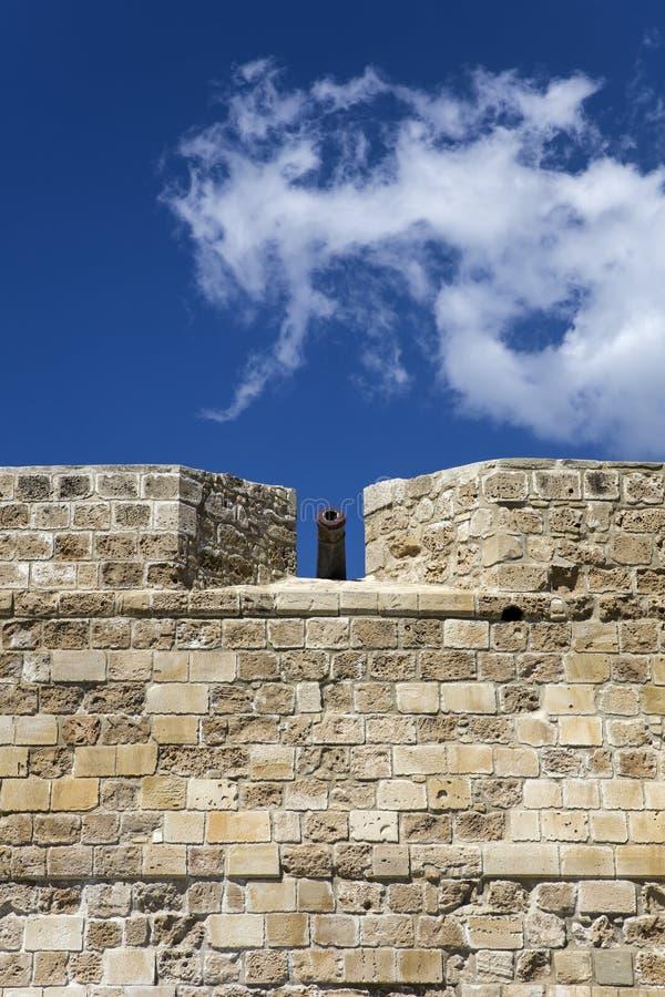 Замок Ларнаки на Кипре стоковые фото