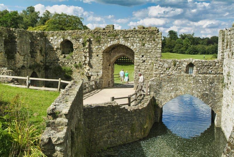 Замок Лидс в Майдстоуне, Кент, Англия стоковое фото