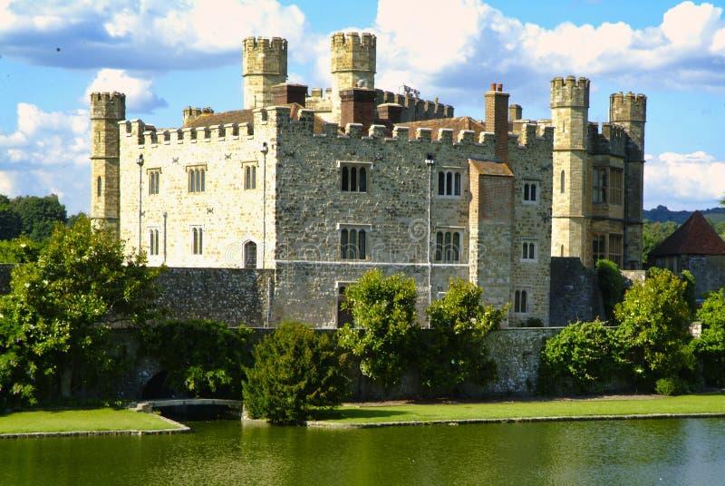 Замок Лидс, Майдстоун, Кент, Англия стоковые фотографии rf
