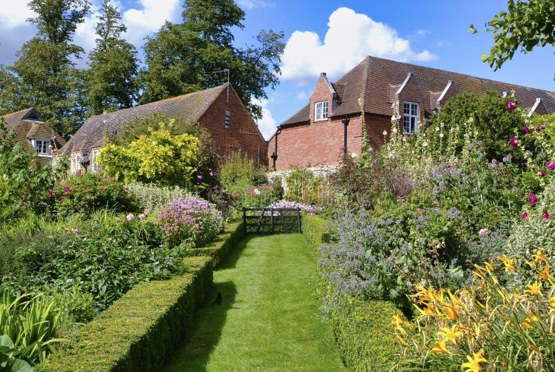 Замок Лидс, Майдстоун, Кент, Англия стоковое фото rf