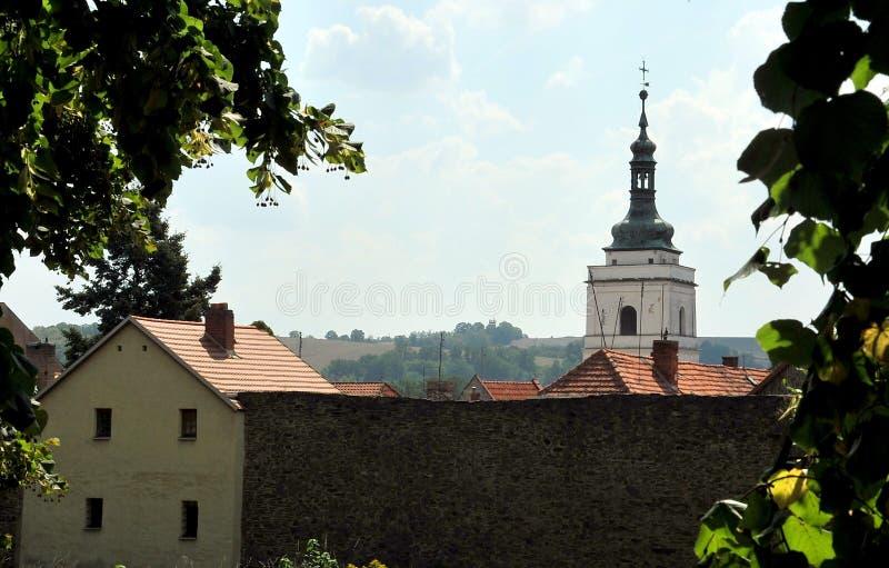 Замок на Horsovsky Tyn, чехии стоковое фото rf
